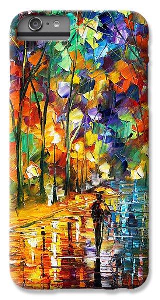 Afremov iPhone 6 Plus Case - Pretty Night - Palette Knife Oil Painting On Canvas By Leonid Afremov by Leonid Afremov