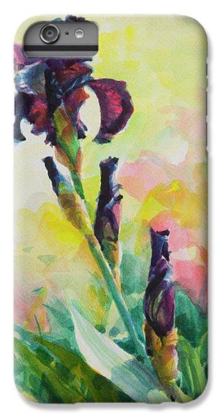 Irises iPhone 6 Plus Case - Purple Iris by Steve Henderson