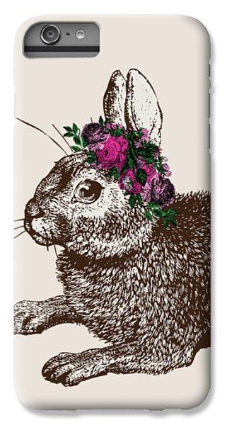 Rabbit And Roses IPhone 6 Plus Case