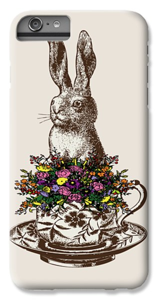 Rabbit In A Teacup IPhone 6 Plus Case