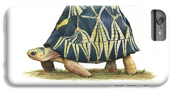 Radiated Tortoise  IPhone 6 Plus Case by Juan Bosco