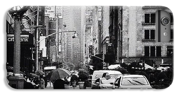 Rain - New York City IPhone 6 Plus Case