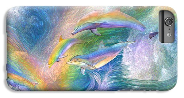 Rainbow Dolphins IPhone 6 Plus Case