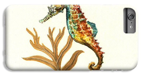 Rainbow Seahorse IPhone 6 Plus Case