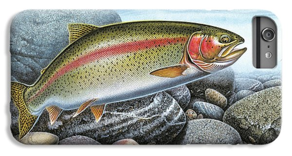 Rainbow Trout Stream IPhone 6 Plus Case by JQ Licensing
