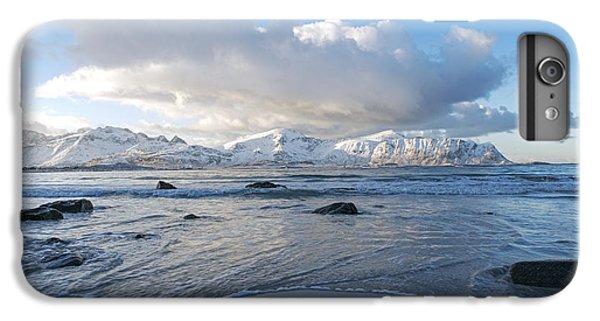 Ramberg Beach, Lofoten Nordland IPhone 6 Plus Case by Dubi Roman