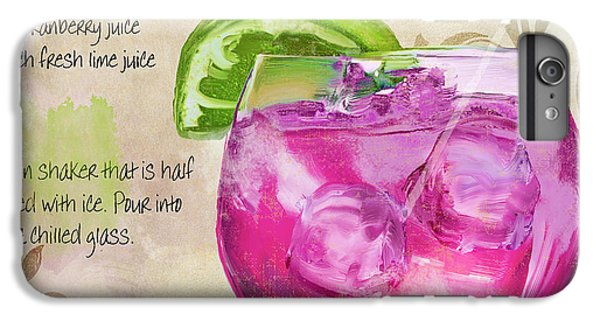 Rasmopolitan Mixed Cocktail Recipe Sign IPhone 6 Plus Case