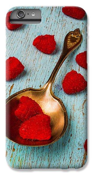 Raspberries With Antique Spoon IPhone 6 Plus Case