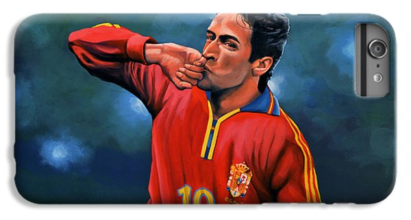 Raul Gonzalez Blanco IPhone 6 Plus Case by Paul Meijering