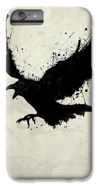 Wildlife iPhone 6 Plus Case - Raven by Nicklas Gustafsson