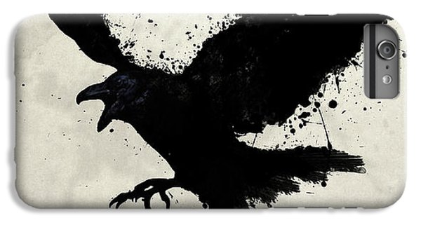 Raven IPhone 6 Plus Case by Nicklas Gustafsson