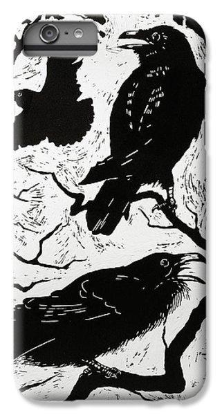 Ravens IPhone 6 Plus Case by Nat Morley