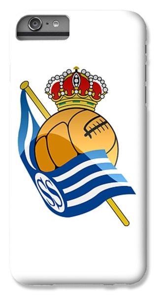 Real Sociedad De Futbol Sad IPhone 6 Plus Case by David Linhart