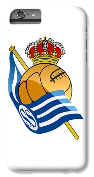 Real Sociedad De Futbol Sad IPhone 6 Plus Case by David Linhart