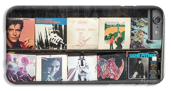 Record Store Burlington Vermont IPhone 6 Plus Case by Edward Fielding
