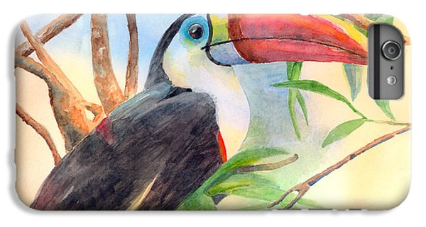 Red-billed Toucan IPhone 6 Plus Case by Arline Wagner