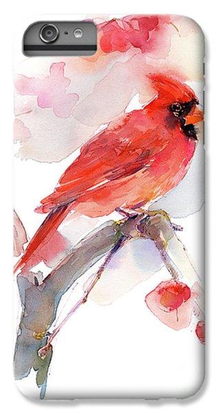Red Cardinal IPhone 6 Plus Case