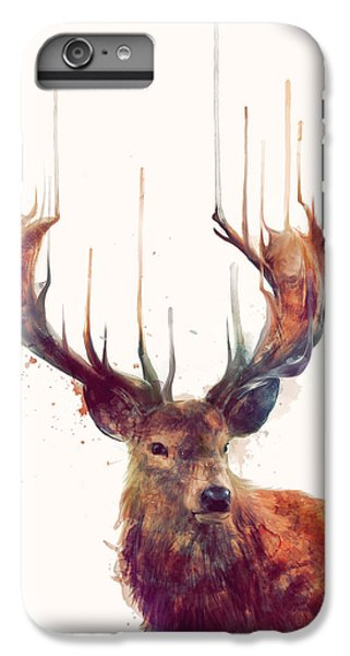 Red Deer IPhone 6 Plus Case by Amy Hamilton
