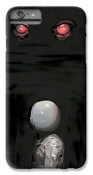 Astronauts iPhone 6 Plus Case - Red Eyes by Scott Listfield