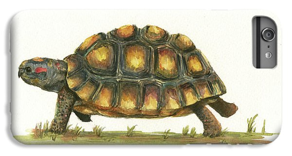 Red Footed Tortoise  IPhone 6 Plus Case