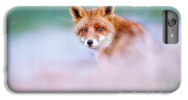 Red Fox In A Mysterious World IPhone 6 Plus Case by Roeselien Raimond