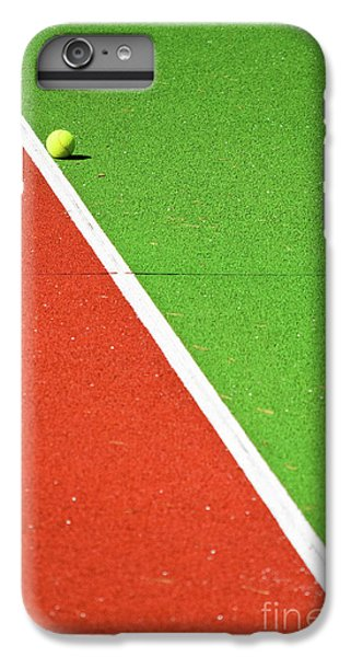 Red Green White Line And Tennis Ball IPhone 6 Plus Case