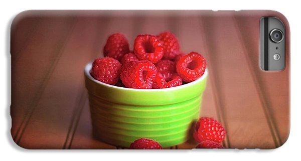 Red Raspberries Still Life IPhone 6 Plus Case by Tom Mc Nemar