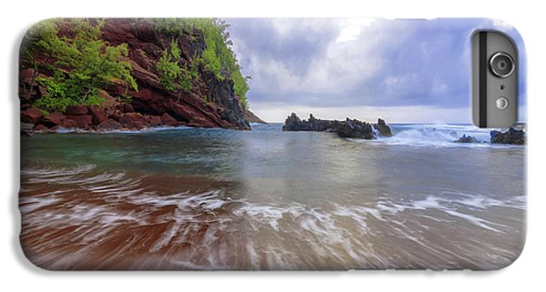 Pacific Ocean iPhone 6 Plus Case - Red Sand by Chad Dutson