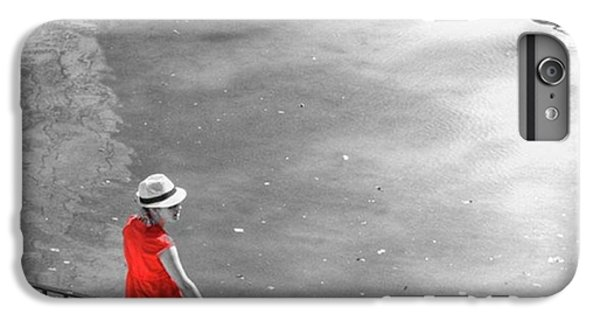 London iPhone 6 Plus Case - Red Shirt, Black Swanla Seu, Palma De by John Edwards