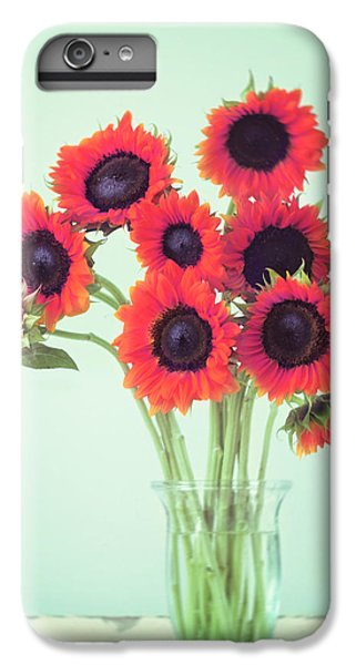 Red Sunflowers IPhone 6 Plus Case