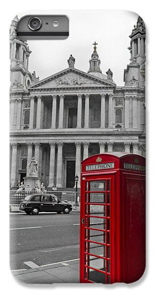 Red Telephone Boxes In London IPhone 6 Plus Case by Gary Eason