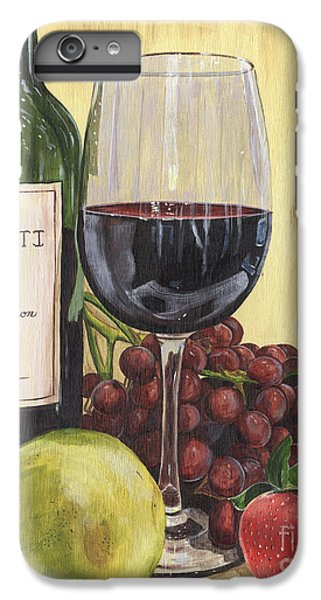 Red Wine And Pear 2 IPhone 6 Plus Case