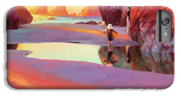 Pacific Ocean iPhone 6 Plus Case - Reflection by Steve Henderson