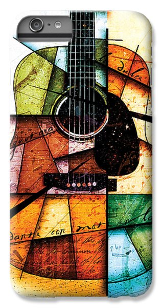 Guitar iPhone 6 Plus Case - Resonancia En Colores by Gary Bodnar