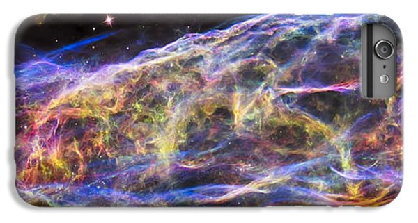 IPhone 6 Plus Case featuring the photograph Revisiting The Veil Nebula by Adam Romanowicz