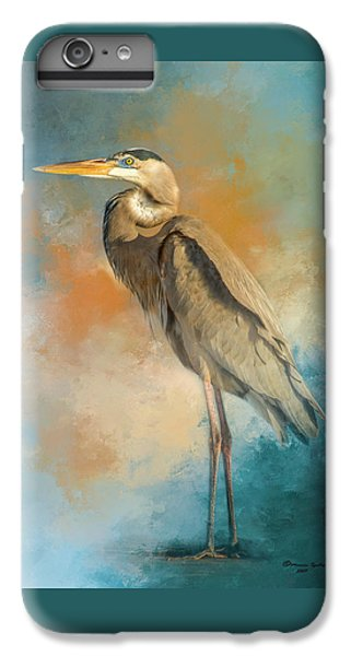 Heron iPhone 6 Plus Case - Rhapsody In Blue by Marvin Spates