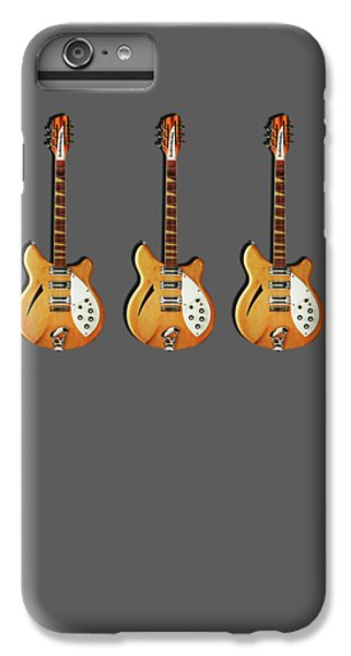 Rickenbacker 360 12 1964 IPhone 6 Plus Case by Mark Rogan