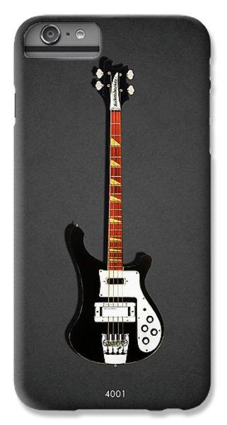 Guitar iPhone 6 Plus Case - Rickenbacker 4001 1979 by Mark Rogan