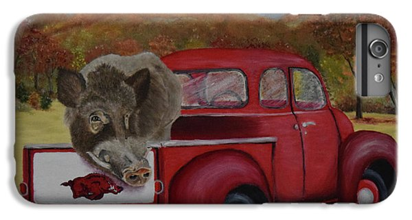 Ridin' With Razorbacks IPhone 6 Plus Case