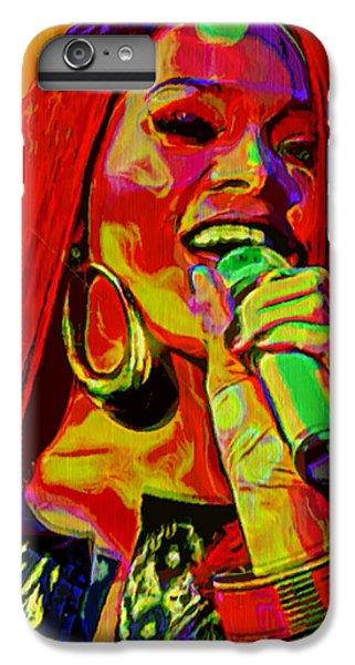 Rihanna 2 IPhone 6 Plus Case by  Fli Art
