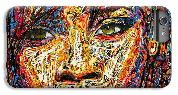 Rihanna IPhone 6 Plus Case by Angie Wright