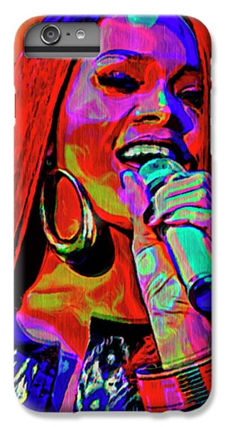 Rihanna  IPhone 6 Plus Case by  Fli Art