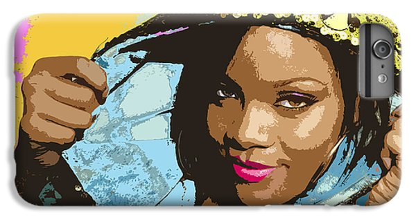 Rihanna IPhone 6 Plus Case by John Keaton