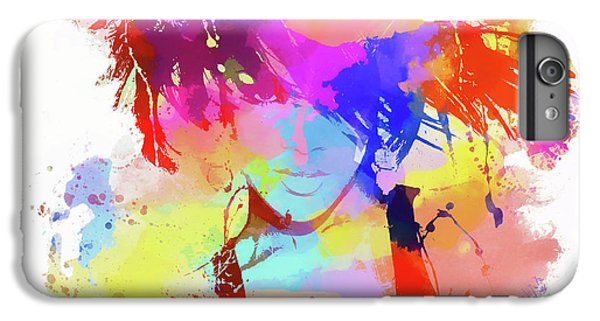 Rihanna Paint Splatter IPhone 6 Plus Case by Dan Sproul