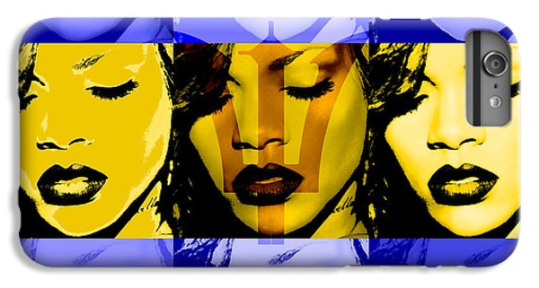 Rihanna Warhol Barbados By Gbs IPhone 6 Plus Case by Anibal Diaz