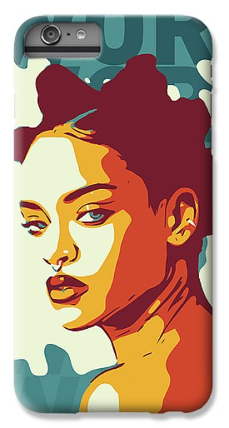 Rihanna IPhone 6 Plus Case by Greatom London