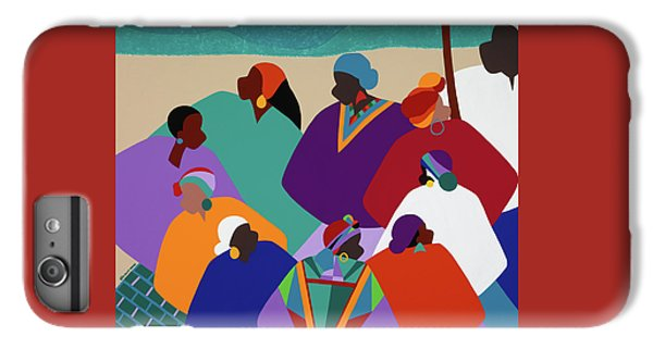 iPhone 6 Plus Case - Ring Shout Gullah Islands by Synthia SAINT JAMES