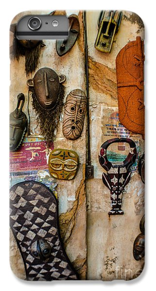 eb038bdc6 Traditional African Masks iPhone 6 Plus Case - Ritual Social Meanings by  Gary Keesler