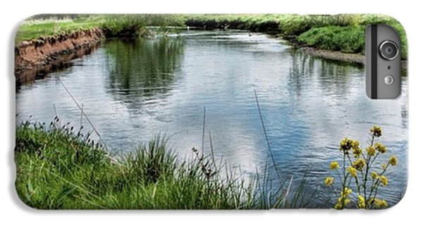 iPhone 6 Plus Case - River Tame, Rspb Middleton, North by John Edwards