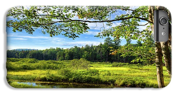 IPhone 6 Plus Case featuring the photograph River Under The Maple Tree by David Patterson